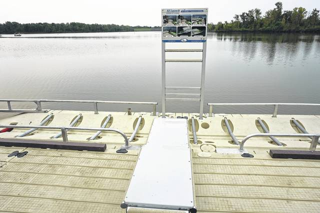 A new ADA-compliant kayak ramp and dock is now in place at Delaware State Park. It's one of several improvements to the facilities made by the Ohio Department of Natural Resources.