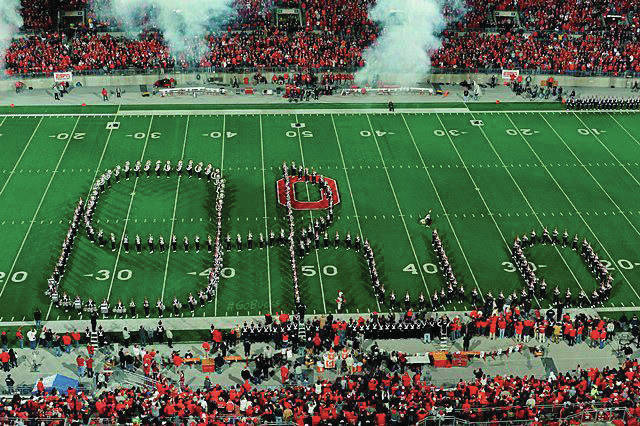 OSU's Marching Band is best known for Script Ohio.
