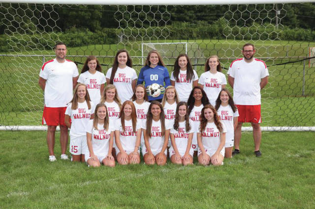 The 2017 Big Walnut Girls Varsity Soccer team.