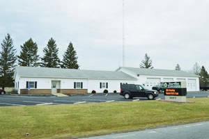 The Berlin Township zoning building.