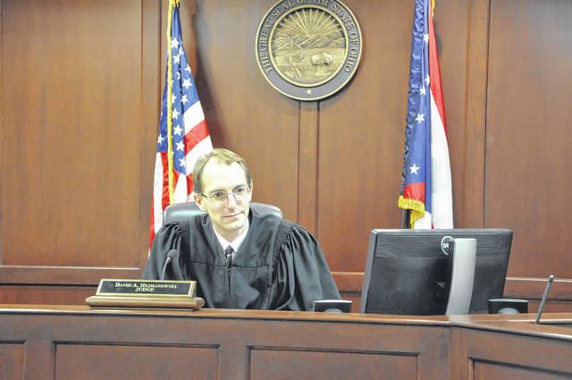 Delaware County Juvenile Court Judge David Hejmanowski, shown in his courtroom at the Hayes Building, said a grant that was recently awarded to the juvenile court will help diagnose individual needs of juveniles and keep them out of detention centers.