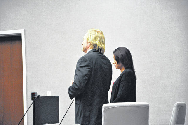 Alana Hissong and her attorney Dominic Mango attended a change of plea hearing Thursday morning (Jan. 4) in Delaware County Common Pleas Court. She will be sentenced on Feb. 12.