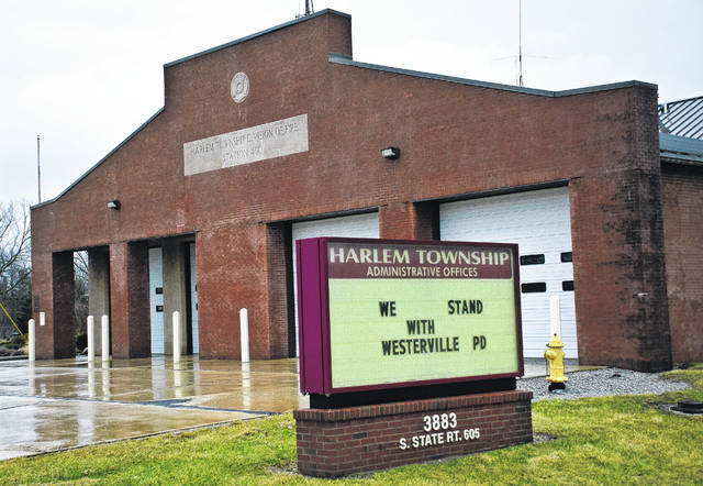"""We want the trustees to really consider what is smart for the community,"" said Brittany Bowers, a member of a group of Harlem Township residents who are rallying against the rezoning of a property for a proposed 500-unit storage facility on Fancher Road. The group plans to attend the next township trustees meeting at 7 p.m. Wednesday in township hall at 3883 S. State Route 605, Galena."