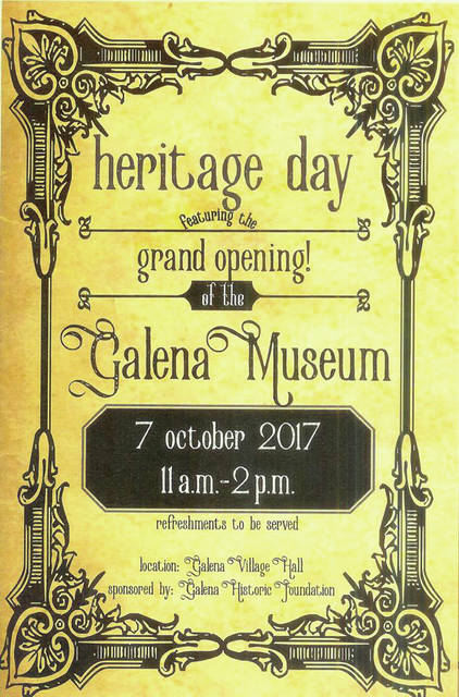 The grand opening of the Galena Historic Foundation Museum was one of the village's highlights in 2017.