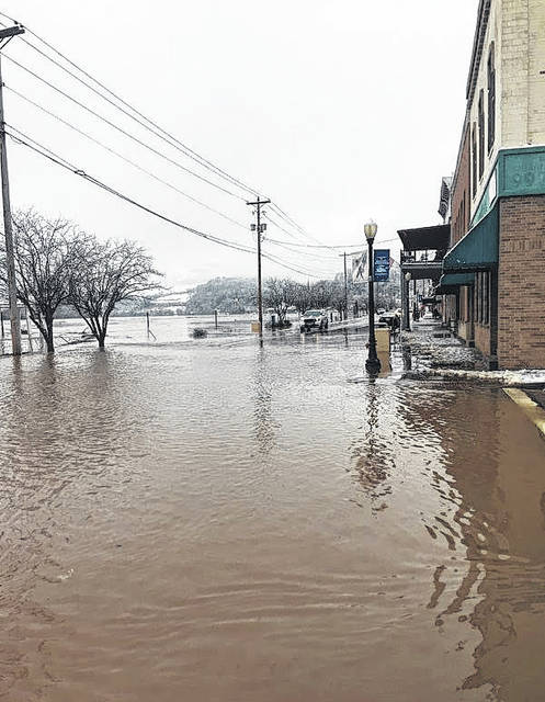 Flooding in mid-February caused more than $2 million dollars in damage in Meigs County, including damage in the downtown Pomeroy area.