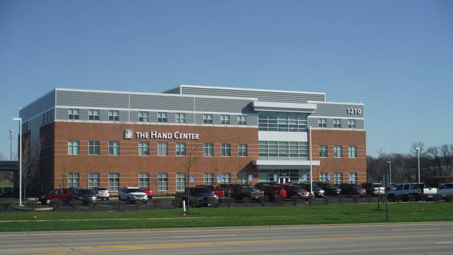 The Hand Center in Lewis Center.