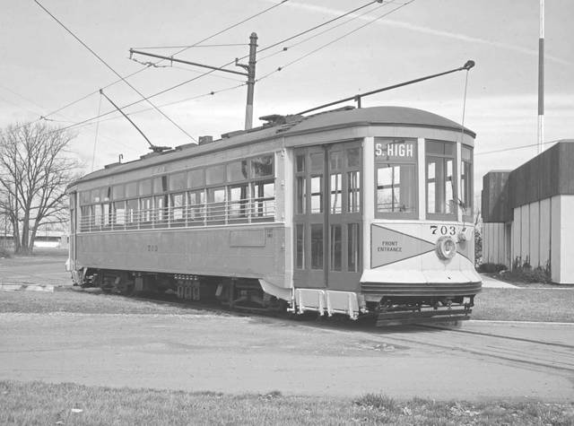The Ohio Railway Museum is currently working to restore the last Columbus streetcar known to be in existence. Pictured is what streetcar 703 originally looked like.