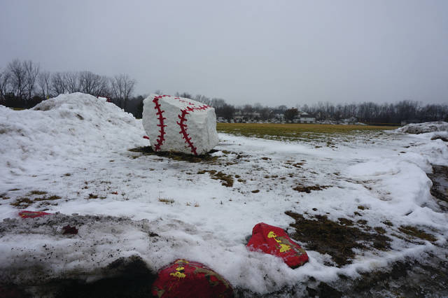 Hopefully, the Golden Eagles will not be playing in the snow this season.