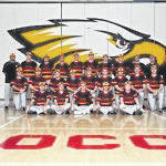 The varsity baseball team.