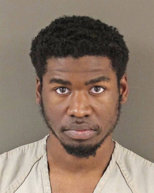 FILE – This undated photo provided by the Franklin County Sheriff's Office in Columbus, Ohio, shows Aaron Daniels. A reduced prison sentence is appropriate for Daniels who tried to help the Islamic State group, a defense attorney argued ahead of a June 7, 2018, sentencing, citing the defendant's youth, his remorse and his mental health struggles. (Franklin County Sheriff's Office via AP, File)