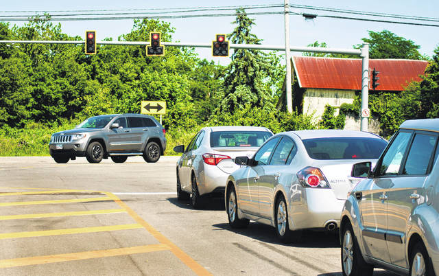 According to Delaware County Chief Deputy Engineer Rob Riley, pending all the ODOT approvals that will be necessary on U.S. Route 23, the engineer's office hopes to start construction next fall on the Home Road extension, which could open as soon as the summer of 2020. The $954,965 project will extend Home Road across U.S. 23 to a new intersection at Green Meadows Drive. Currently, Home Road ends on the west side of U.S. 23 where motorists only have the option to turn left or right at intersection shown in the photo.