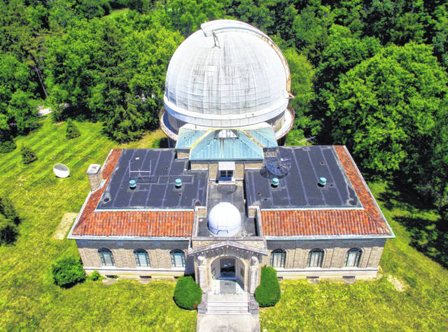 Ohio Wesleyan's Perkins Observatory will host daytime 'Celebration of the Sun' events at 4 p.m. July 14, 21, and 28. The afternoon celebrations will replace the observatory's Friday night skywatches throughout the month.