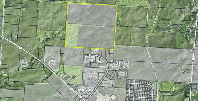 Pictured is the future site of the new Big Walnut High School and Big Walnut Elementary. The recently purchased land is located east of Carters Corner Road, west of State Route 61, and north of U.S. Route 36/State Route 37 in Sunbury.