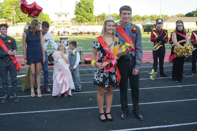 Grace Bodker and Leif Anderson were named Big Walnut High School's Homecoming Queen and King on Sept. 28. For more photos from the parade and football game, see The Sunbury News' Facebook page.