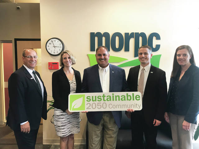 Genoa Township receives a certification from MORPC.