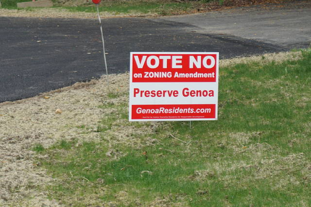 Two issues were on the ballot for Genoa Township residents.