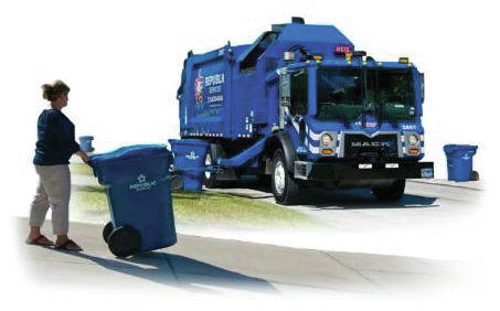 Trash day changes in Berkshire Township.