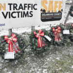 Four wreaths added to display at OSHP post