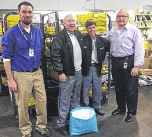 Local mail carriers receive award