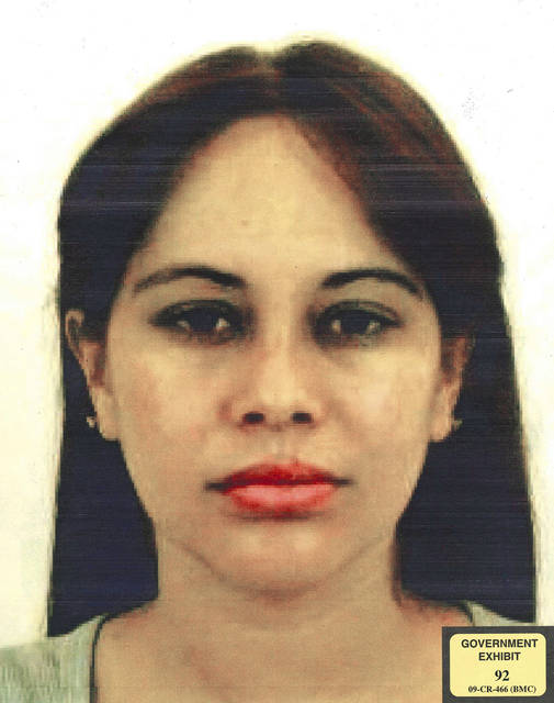 "This undated photo provided by the United States Attorney for the Eastern District of New York shows Lucero Guadalupe Sanchez Lopez. Sanchez, who says she had an affair with the notorious Mexican drug kingpin Joaquin ""El Chapo"" Guzman, testified against him on Thursday, Jan. 17, 2019, at his U.S. trial in New York. (U.S. Attorney for the Eastern District of New York via AP)"