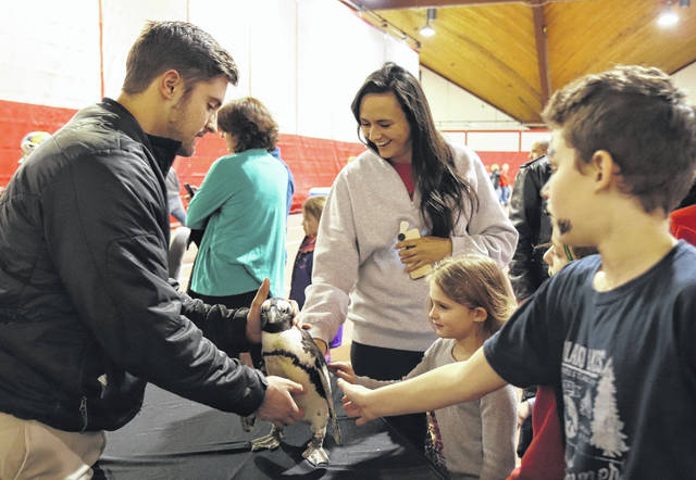 Bishop Backers Winter Community Day 2019 will be held Feb. 16 at Ohio Wesleyan University. The free event will feature an OWU basketball doubleheader, and a Delaware Expo with a YMCA children's play area and a visit from Columbus Zoo animals. Last year's expo included a visit from penguin.