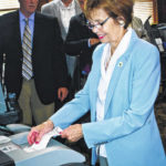 Voting system adopted by commissioners