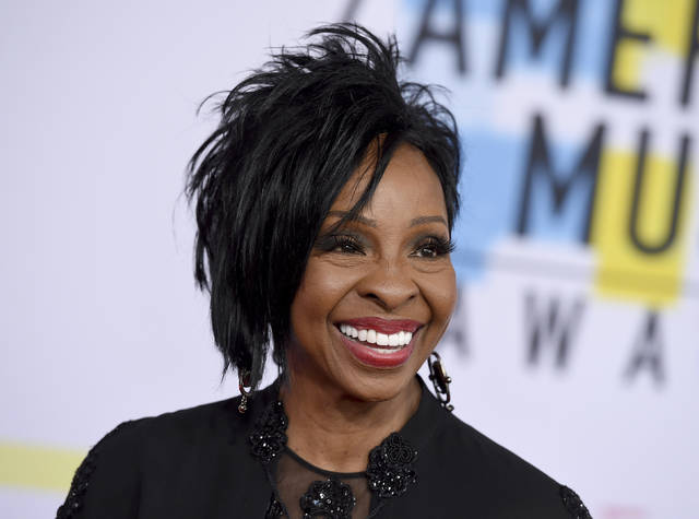"""FILE - In this Oct. 9, 2018 file photo, Gladys Knight arrives at the American Music Awards at the Microsoft Theater in Los Angeles. The seven-time Grammy Award-winner will sing """"The Star-Spangled Banner"""" at this year's Super Bowl, Sunday, Feb. 3, 2019.(Photo by Jordan Strauss/Invision/AP, File)"""