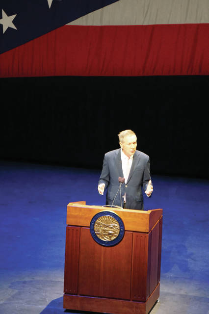 As Ohio Governor, Kasich gave his final State of the State address at Otterbein University in Westerville in 2018.