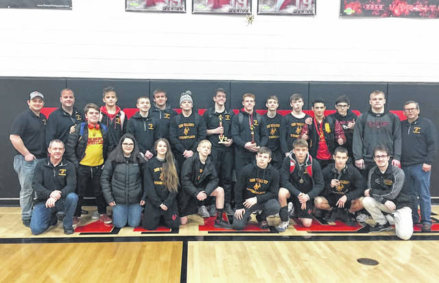 The wrestling team finished 5th at Ron Thomas Sr. Wrestling Invitational tournament.