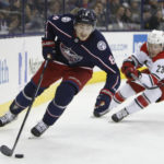 Bobrovsky stops 46 shots, Blue Jackets beat Carolina 3-0