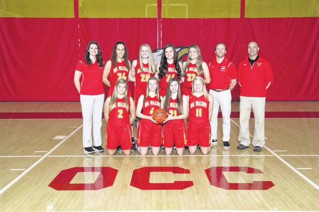 The Big Walnut Girls Varsity Basketball team had an Overall Record of 18-6 and a Conference Record of 8-2.