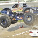 Large crowd enjoys Monster Trucks at Kil-Kare