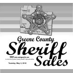 Greene County Sheriff Sales: May 3, 2016