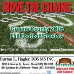 2016 Greene County Fall Football Preview