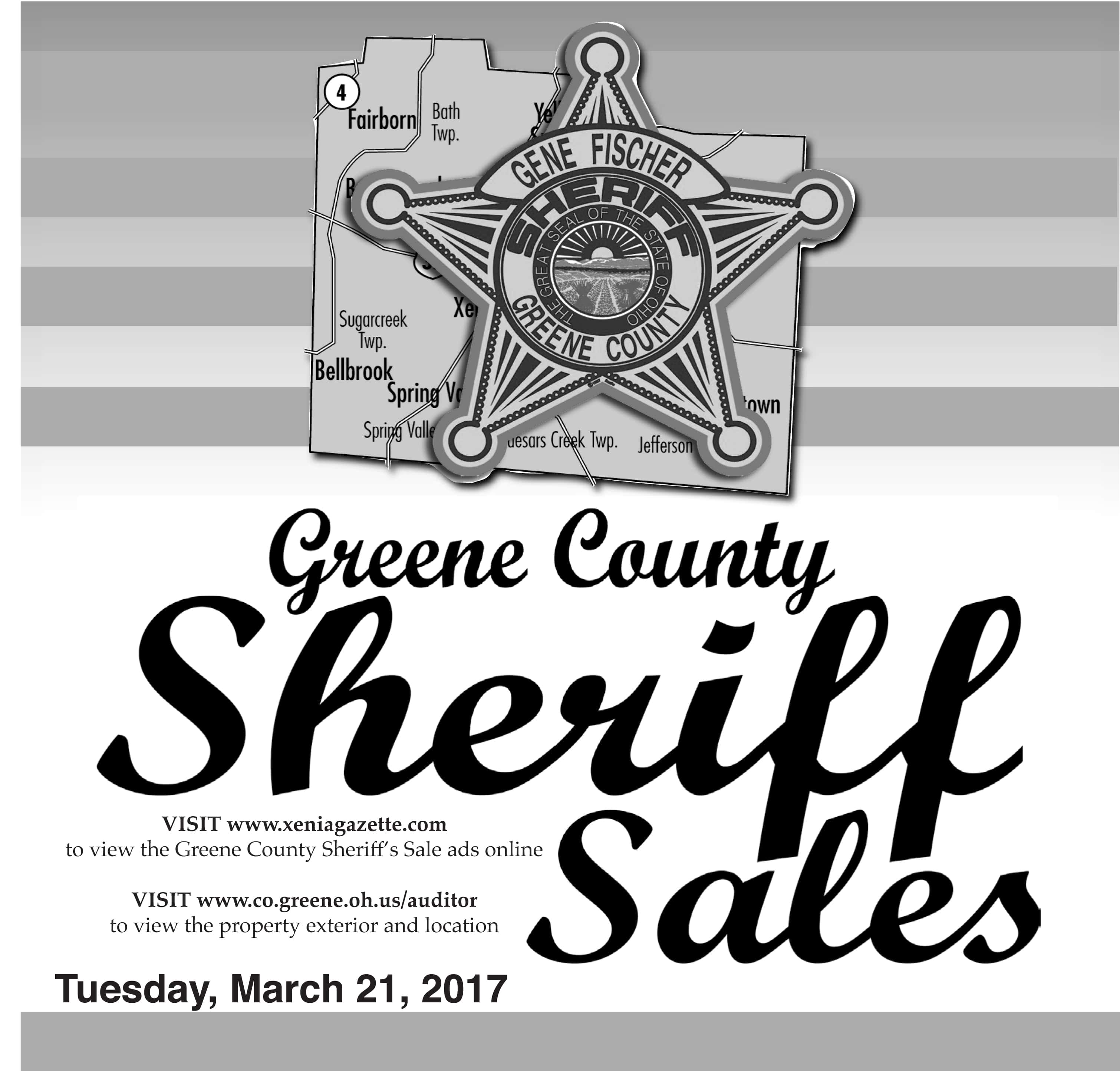 Sheriff Sales: March 21, 2017