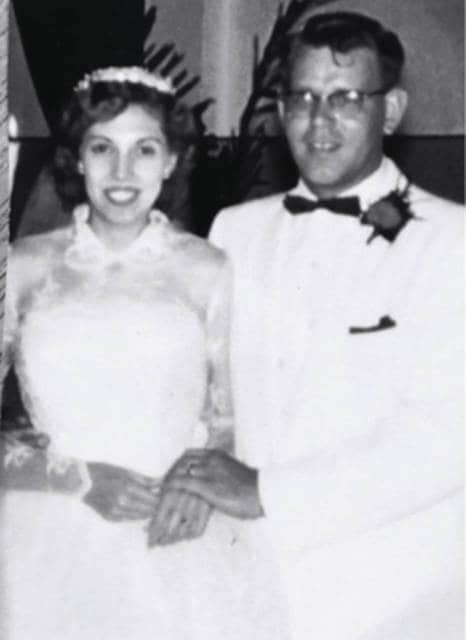 Janet and Jerald Murrell in 1957.