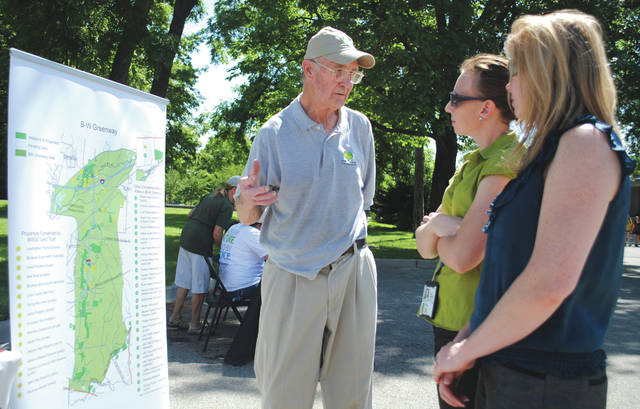 Wright-Patterson Air Force Base hosted an event June 21 to celebrate its Bee City USA designation. Several environmentally-focused organizations were in attendence to offer information.