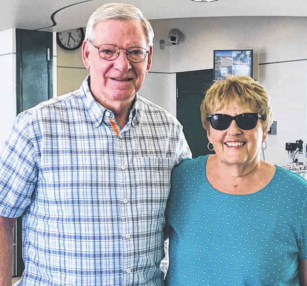 Submitted photo Scott and Carolyn Barker of Beavercreek celebrated their 50th wedding anniversary.