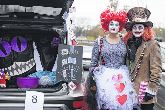 Naomi Harward | News-Current Cruise-in for Candy and Family Movie Night was held Oct. 28 at Christian Life Center, 1321 Research Park Drive. Participants decorated cars and passed out candy to all the children attending this event.