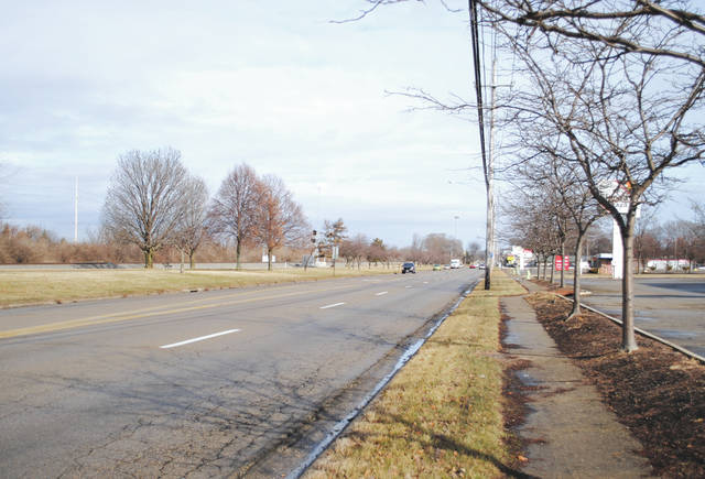 Photos by Whitney Vickers   Fairborn Herald The City of Fairborn is planning its first roundabout at Colonel Glenn Highway and Kauffman Avenue.