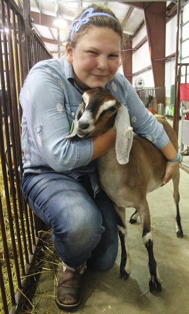 Alice Hook and Jelly also competed in shows together during the fair.