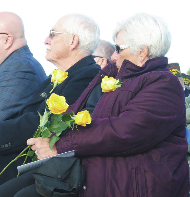 Jim and Leslie Groves, local Gold Star parents who spearheaded the efforts that brought a Gold Star monument to the Miami Valley.