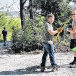Twenty-five tons of limestone part of Eagle Scout project