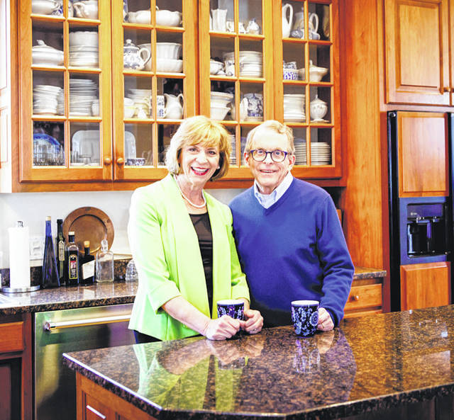 Submitted photo Mike DeWine, pictured with his wife, Fran, has a clear plan of what he wants Ohio to become during his tenure as governor.