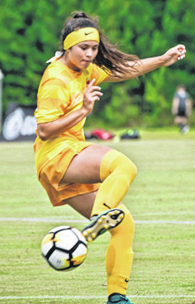 File photo Beavercreek junior Marcella Cash recently committed to play soccer at Indiana University.