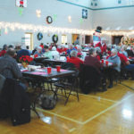 Seniors enjoy annual Christmas party