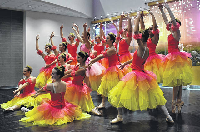 The Miami Valley Dance Company will present the Nutcracker ballet Saturday, Dec. 8 and Sunday, Dec. 9 at Bellbrook High School.