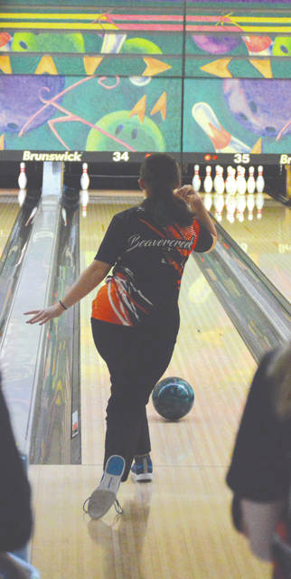 The Beavercreek girls team holds the highest team average among Greene County-area high school varsity bowling teams with an 890.3 average.