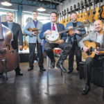 Top bluegrass and country artists in concert