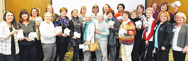 Submitted photos The Beavercreek Women's League hosted lunch and learn Feb. 20 at Soin Medical Center.